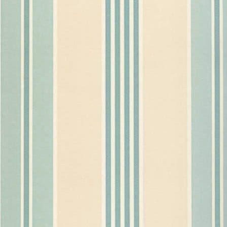 На фото Lewis&Wood  Classic Wallpapers PIMLICOSTRIPE-AQUA-WPCW10
